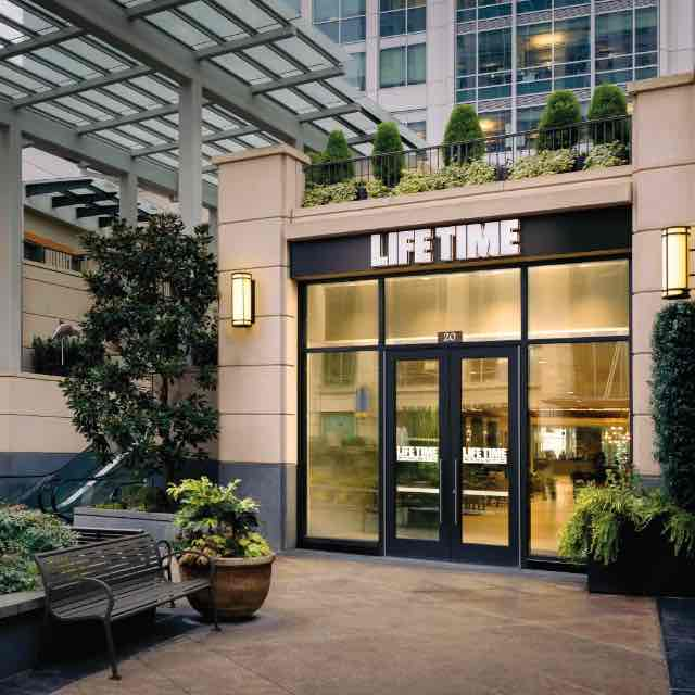 Building exterior at Life Time Bellevue