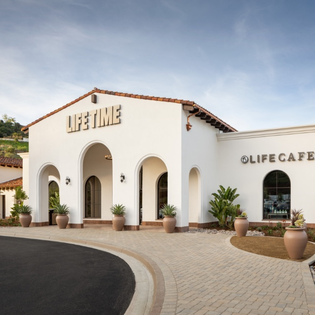 Exterior of Life Time Rancho San Clemente