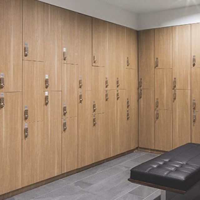 Locker Rooms at Life Time Noho