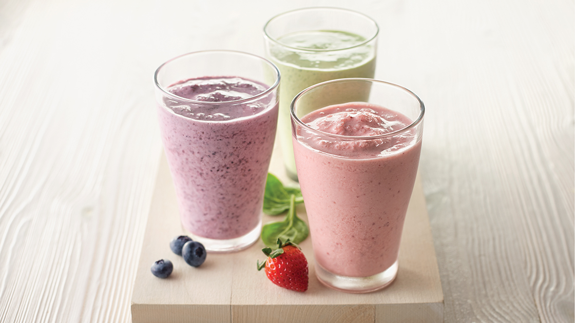 Smoothies and shakes