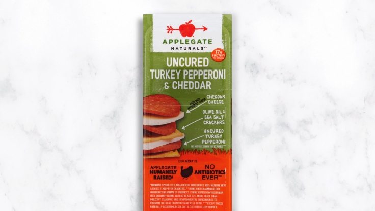 Applegate turkey pepperoni snack
