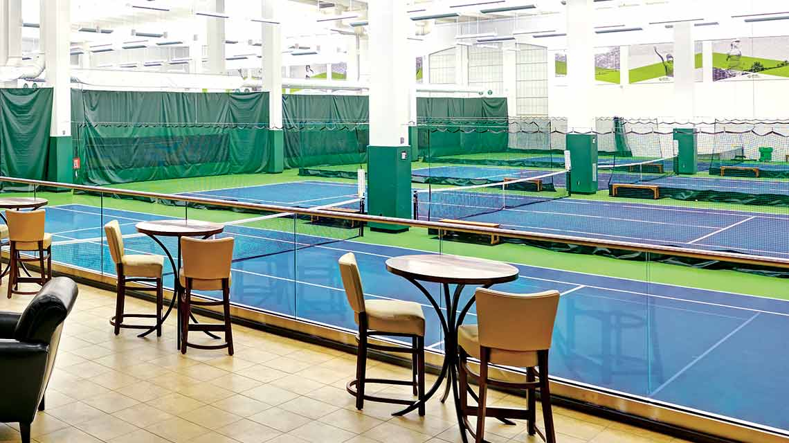 Go to Facility Indoor Tennis Court