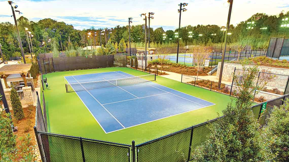 Go to Facility Outdoor Tennis Clay Court