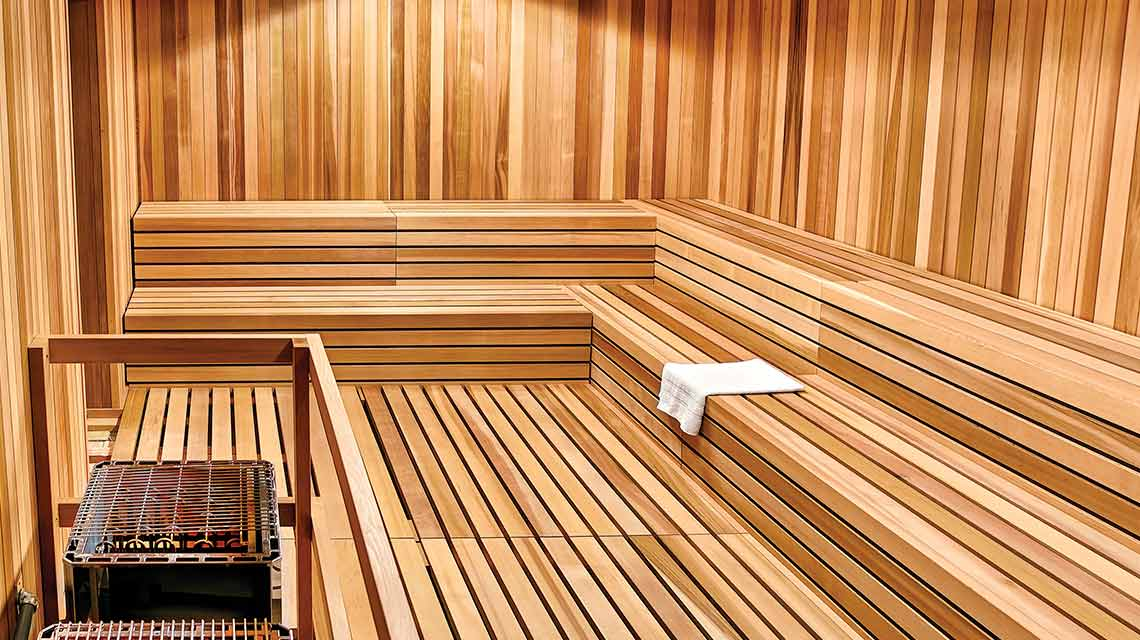 image of saunas
