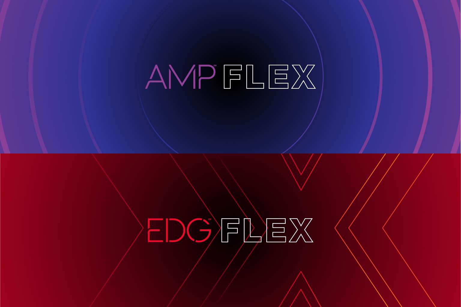 AMP Sculpt and EDG Sculpt type lockups and graphics
