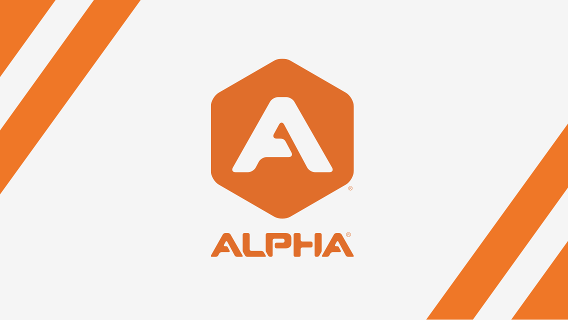 Illustration of Alpha logo