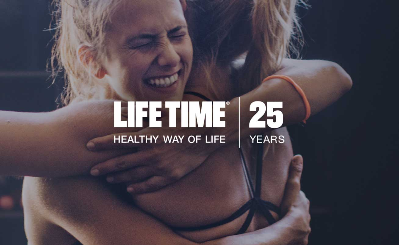 Celebrate as we celebrate the 25th anniversary of Life Time