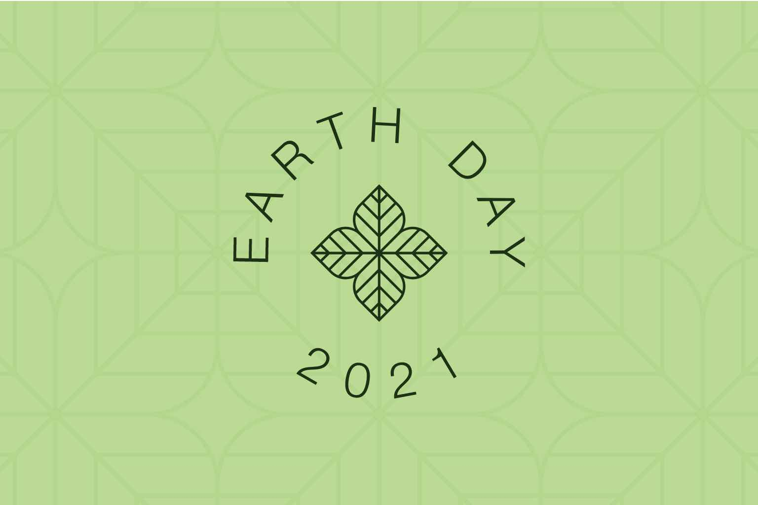 Graphics surrounding Earth Day 2021